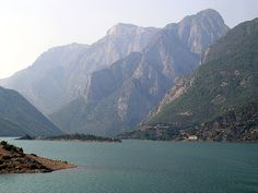 Koman lake...North Albania