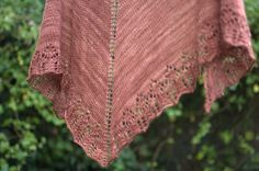 buttermere 2 by knitfaced, easy but beautiful FREE shawl pattern