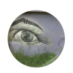Choose from a great selection of Art plates ranging from dinnerware to license plates for you car. Crying Eyes, Street Art, Plates, Gifts, Design, Licence Plates, Dishes, Presents, Griddles