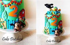 baby animals cake by The Cake Dutchess