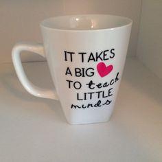 Teacher Mug  May Mug of the Month  by Cafe47 on Etsy, $8.00