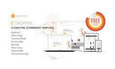 E-Shopper Free Bootstrap Theme