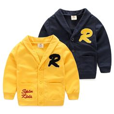 Felds Spring Children'S Clothing Boys Jackets New Fashion Kids Clothes Boy Outerwear&Coats Yellow 7T. Please choose 1-2 bigger size than your US SIZE because it is Asian size. it will keep warm comfortable and looking great. This coat is perfect for the cool chilly days in the winter or Autumn. Hand-wash and Machine washable. Whether for your little boy or nephew,this coat will make a great birthday gift.