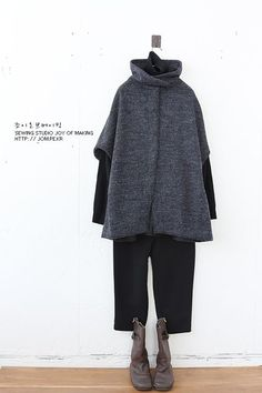 Pin on ファッションスタイル 60 Fashion, Muslim Fashion, Minimal Fashion, Winter Fashion, Fashion Outfits, Womens Fashion, Casual Fall Outfits, Simple Outfits, Japanese Fashion