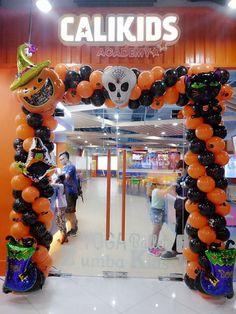 Fright Night, Balloon Decorations, Balloons, Events, Halloween, Globe Decor, Globes, Balloon, Halloween Stuff