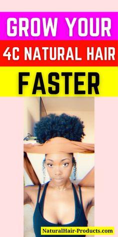 #1 Hair Growth Secret Using Natural Remedies For 4C Longer Hair