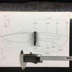 Knife Drawing, Knife Template, Cleaver Knife, Knife Patterns, Blacksmith Forge, Rusalka, Knife Handles, Custom Knives, Survival Prepping