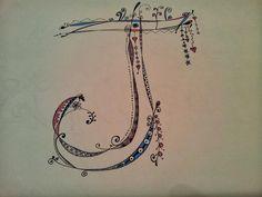 "Nice Zenspirations monogram ""J"" by My Secret Nest...: October 2013"