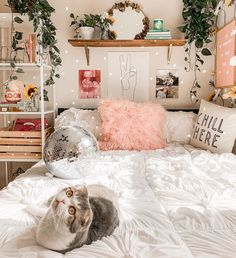 Teen Room Decor 11936 live your best life today – If you still have a pulse, God still has a purpose. Room Ideas Bedroom, Teen Room Decor, Bedroom Inspo, Teenage Bedroom Decorations, Dorm Decorations, Aesthetic Room Decor, Cozy Room, Dream Rooms, Dream Bedroom