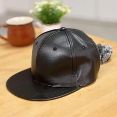 Buy 59 Seconds Faux Leather Baseball Cap at YesStyle.com! Quality products at remarkable prices. FREE WORLDWIDE SHIPPING on orders over US$ 35.