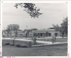 Dow Science Building, Alma College: Archival photographs.