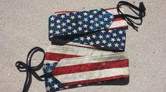 Stars & Stripes American Flag Wrist Wraps