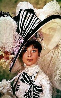 My Fair Lady -- someday I'm going to make this for a costume!  Love that hat.