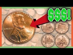 Which pennies should you look for in pocket change? We discuss rare pennies that are worth money and why these coins are valuable. Check out my other coin co. Valuable Pennies, Rare Pennies, Valuable Coins, Antique Coins, Old Coins, English Coins, Easy Crafts To Sell, Diy Crafts, Rare Coins Worth Money