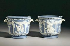 Wedgwood jasperware ice pails