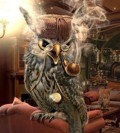 sherlock OWL smoking pipe