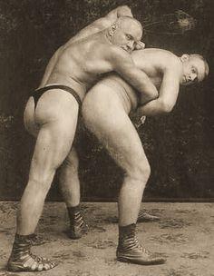 gay wrestling nude boys Vintage