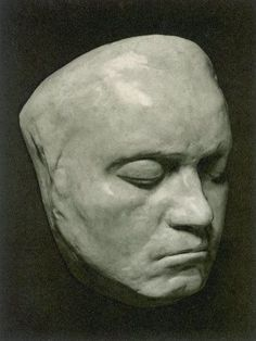 death mask - beethoven