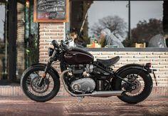 Promo shot of the Triumph Bonneville Bobber