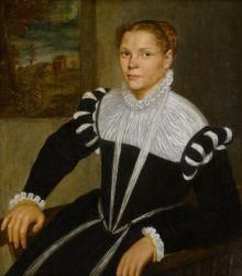 Portrait of a Lady, Italian School c. 1550