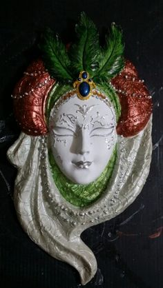 Akrilik boyama/polyester maske