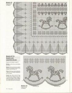 Croche de filê - Claudia - Álbuns da web do Picasa