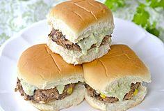 Black Bean Sliders w/ Avocado Mayonnaise... Happy Hour Appetizers 20 | Hampton Roads Happy Hour