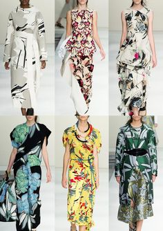 Milan Womenswear Print Highlights Part 2 – Spring/Summer 2015 catwalks