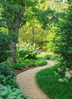 25 Most Beautiful DIY Garden Path Ideas is part of Backyard garden Inspiration - favorite books on garden path construction! Diy Garden, Garden Cottage, Shade Garden, Dream Garden, Garden Paths, Garden Beds, Small Garden Path Ideas, Herb Garden, Pea Gravel Garden