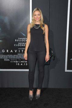 Katrina Bowden style-Gravity New York City Premiere