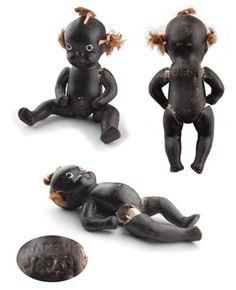 Vintage Bisque Black Americana Doll