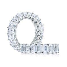 A. Jaffe Diamond Eternity Ring 14K :: Ben Bridge Jeweler
