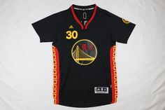 Buy Warriors 30 Stephen Curry Black 2016 Chinese New Year Short Sleeve  Jersey from Reliable Warriors 30 Stephen Curry Black 2016 Chinese New Year  Short ... e429d79a5