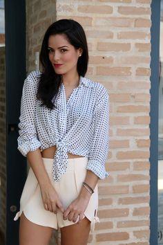 Look do dia bem verão. You Look, Casual, Store, Diy And Crafts, Ideias Fashion, Ruffle Blouse, Women, Blog, Lace Skirt