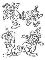 Kleurplaat Carnaval Groep 4 Clown Carnaval Kleurplaat Carnaval Carnaval Kleurplaten