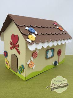 Casa doce - shape grátis (free) em Silhouette Brasil