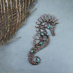 Wire Jewelry Making, Wire Wrapped Jewelry, Handmade Wire, Handmade Jewelry, Jewelry Crafts, Jewelry Art, Pendant Jewelry, Gemstone Jewelry, Beadwork