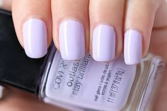 Covergirl Lav-endure 145 // close dupe for Dior Colorvision Vernis Nail Lacquer in Lilac 298 // ~5$