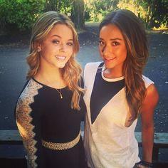 Sasha Pieterse and Shay Mitchell