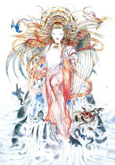 Final Fantasy XI - Wings of the Goddess - Yoshitaka Amano