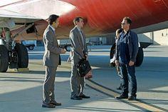 Tony's Arrival in Tel Aviv when he got picked up by Adam