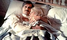 Omar Sharif and Julie Christie in Doctor Zhivago (1965)