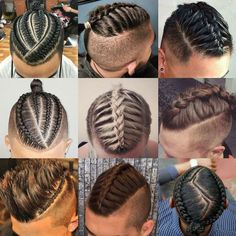 Braids For Men - Cool Braided Hairstyles For Guys http://www.99wtf.net/men/mens-hairstyles/best-hairstyle-men/