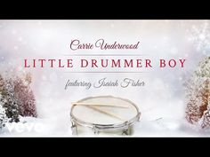 Carrie Underwood - Little Drummer Boy (Official Audio Video) ft. Isaiah Fisher - YouTube Country Christmas Music, Country Music Stars, Coastal Christmas, Christmas Holiday, Christmas Duets, Christmas Albums, Positive Songs, The Little Drummer Boy, Music Sing