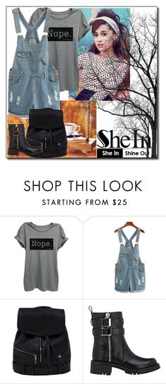 """""""shein"""" by istrijana ❤ liked on Polyvore featuring Sebastian Professional, Thread Tank and Givenchy"""