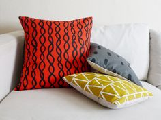 Pillows from Cotton  Flax
