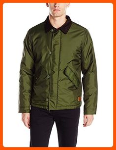 769b1829ed The pinnacle is a relaxed-fit military-inspired jacket made in a nylon  twill shell with synthetic fill and custom quilted lining.