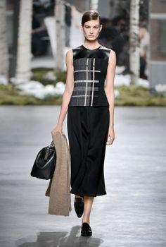 BOSS Womenswear Fall/Winter 2014 by Artistic Director Jason Wu #BOSSfashionshow #NYFW