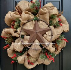 Items similar to Dazzling Texas Flag Wreath on Etsy