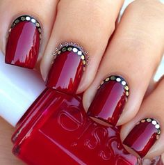 Party nails.  | See more at http://www.nailsss.com/colorful-nail-designs/2/